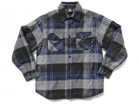 <img class='new_mark_img1' src='https://img.shop-pro.jp/img/new/icons15.gif' style='border:none;display:inline;margin:0px;padding:0px;width:auto;' />YAGO FLANNEL JACKET フランネル キルティングシャツジャケット #2E