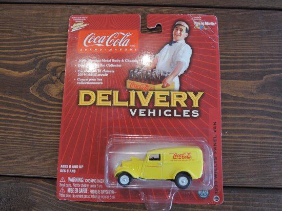 JOHNNY LIGHTNING COCA COLA DELIVERY VEHICLES