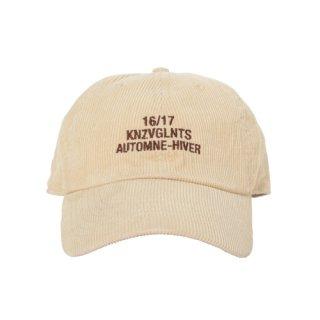 KNZVGLNTS CORDUROY CAP