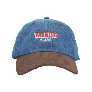 TALKING BRAINS CAP INDIGO DENIM