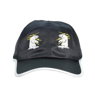 SOUVENIR WHITE BEAR CAP BLACK