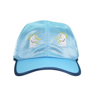 SOUVENIR WHITE BEAR CAP AQUA