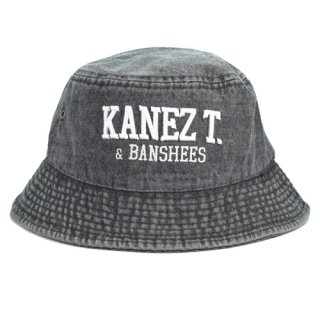 KANEZ.T BUCKET  BLACK DENIM
