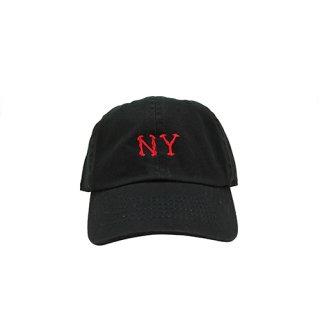 NY BONE CAP BLACK FOR KIDS