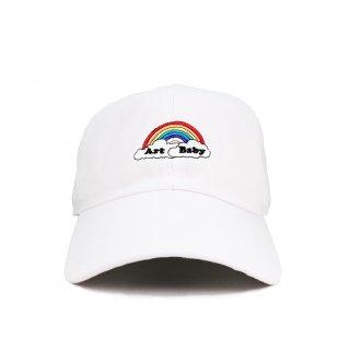 Artbaby×KaneZ RAINBOW CAP WHITE