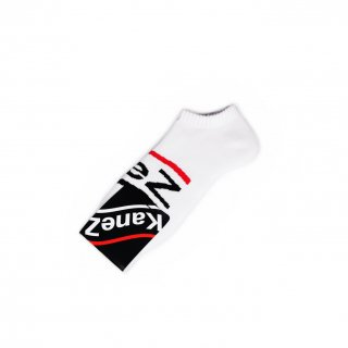 KaneZ LOGO SOCKS WHITE
