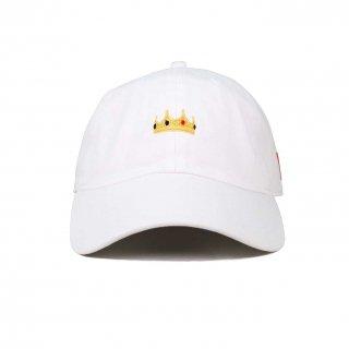 CROWN POLO CAP WHITE