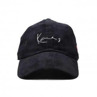 Kane z CORDUROY CAP BLACK