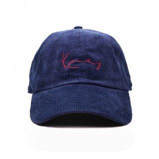 Kane z CORDUROY CAP NAVY