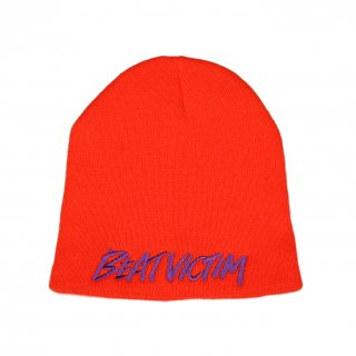 BEAT VICTIM BEANIE ORANGE