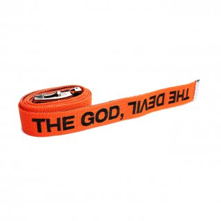 DENIM GI BELT ORANGE×BLUE