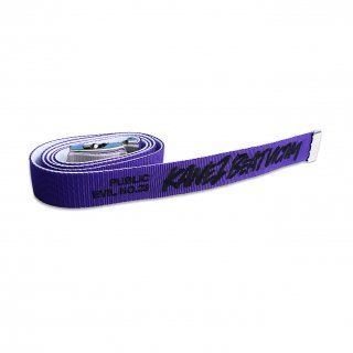 BEAT VICTIM GI BELT PURPLE×WHITE