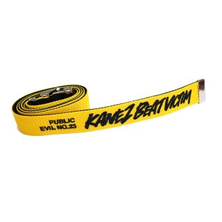 BEAT VICTIM GI BELT YELLOW×BLACK
