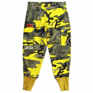 CAMO 6 POCKET PANTS