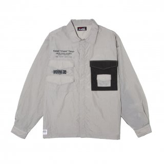 LOGO MULTI POCKET JACKET