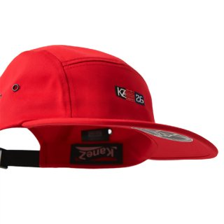 26 LOGO FLAG JET CAP RED