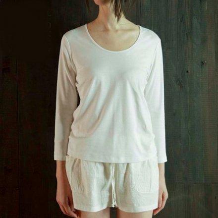 究極の長袖Tシャツ / オーガニックコットン