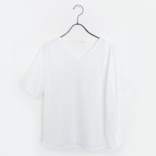 吊り編み天竺デザインTシャツ / オーガニックコットン