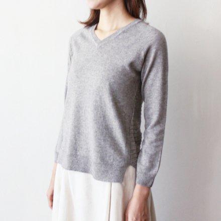 ヤクコットン ロングテール 無縫製セーター