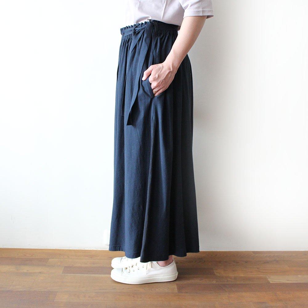【再入荷】天竺ワイドパンツ / オーガニックコットン