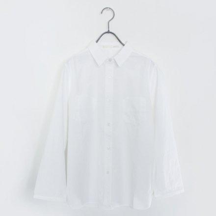 定番ポケット付きシャツ / オーガニックコットン