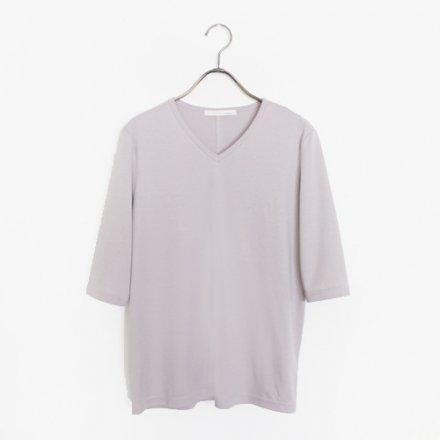 究極のコットン 五分袖Tシャツ / オーガニックコットン