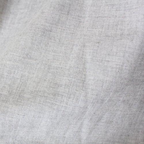 ヤクコットン ループボタンブラウス / オーガニックコットン