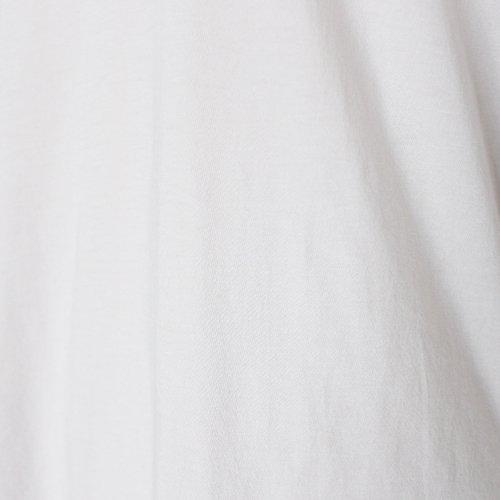 超長綿 天竺 オフタートル 七分袖 / オーガニックコットン