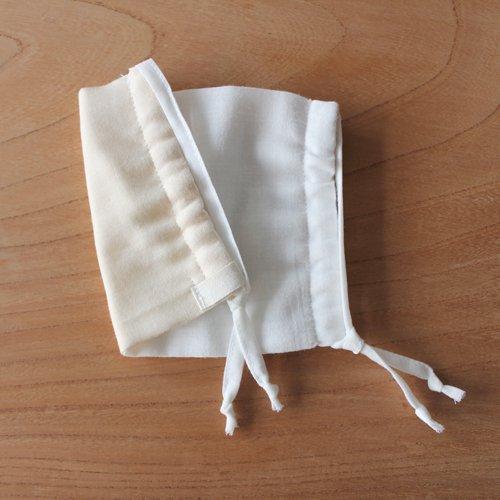 6重ガーゼのスクエアマスク(大人用) / オーガニックコットン