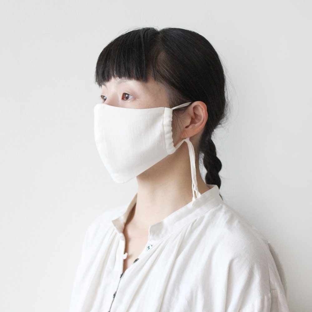 コットンガーゼ 立体マスク(大人用) / オーガニックコットン
