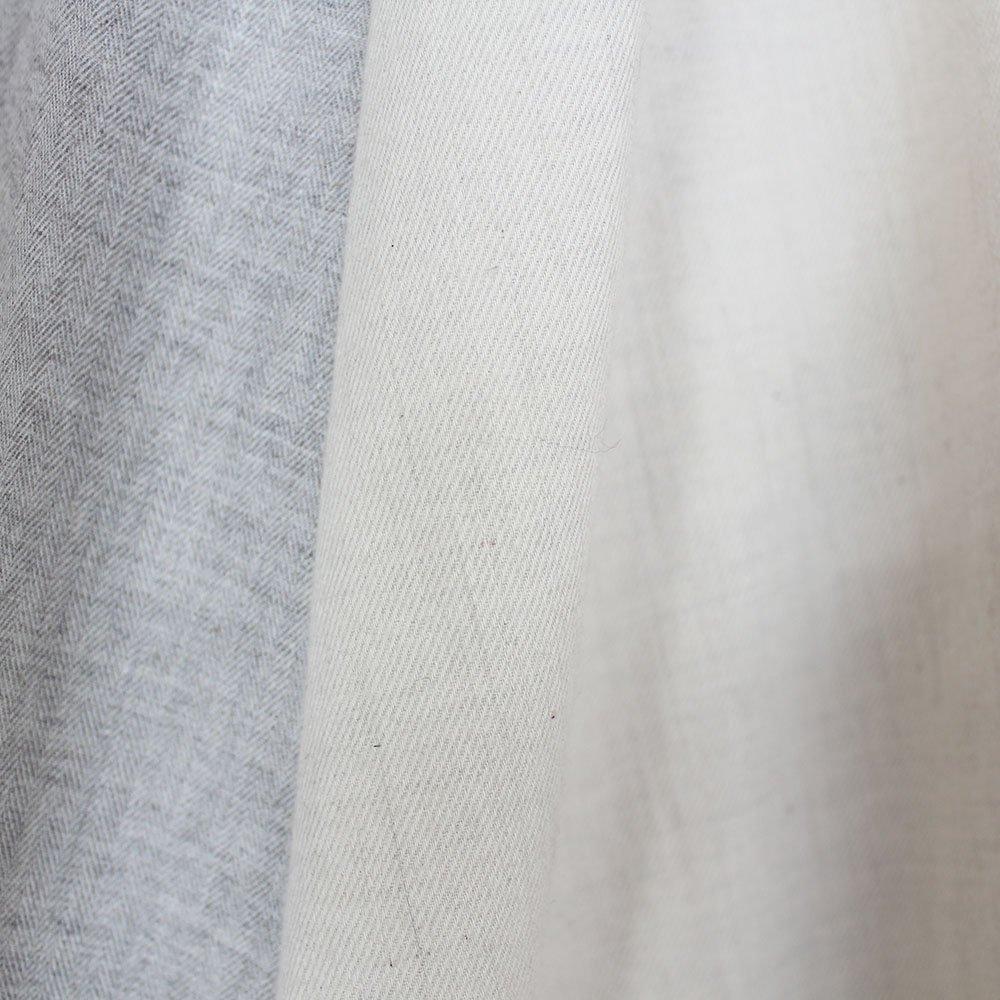 ヤクコットン サイドタックパンツ / オーガニックコットン