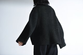 NOT by Ka na ta unmilitary knit black