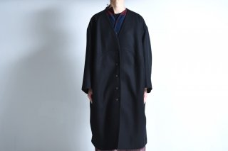NOT by Ka na ta  Unmilitary coat wool black