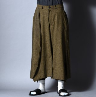 NOT by Ka na ta 45 pants yellow × black