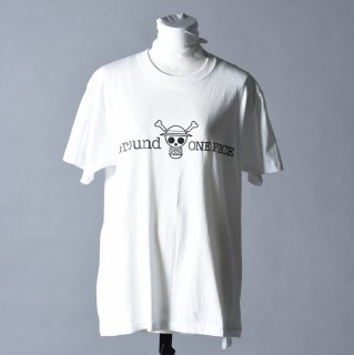 Ground Y × ONE PIECE Collection ロゴカットソー white