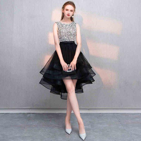 パーティードレス 結婚式 二次会 ワンピース 結婚式ドレス お呼ばれワンピース 20代 30代 40代 ミニ丈 黒 大きいサイズ