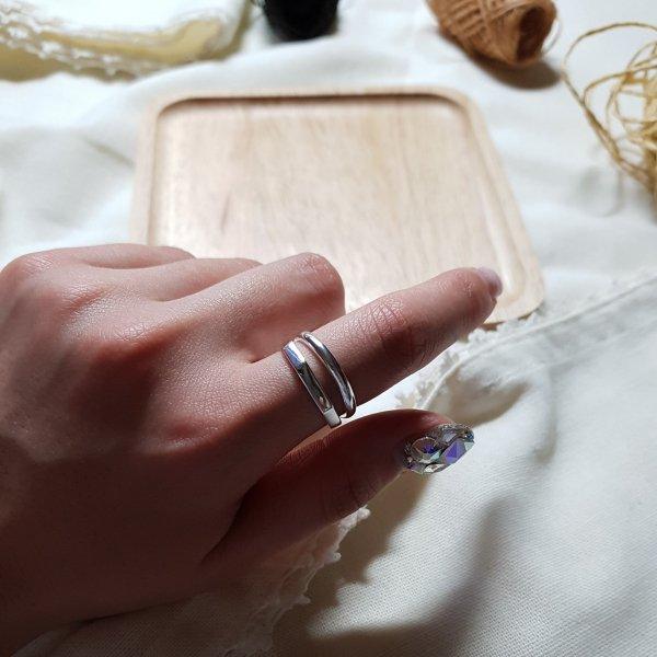 即納 リング 指輪 シルバー925 silver925 オープンリング ワイドリング 人気 韓国ファッション パーティーアクセサリー オルチャン 重ね付け