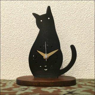 【送料無料】 ネコクロック A