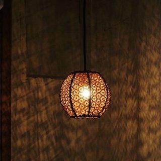 【LED対応可】  BALIボールハンギングランプ
