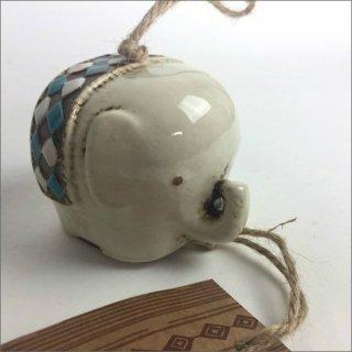 陶器製 風鈴 ゾウ