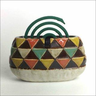 陶器製 蚊遣り フラッグ