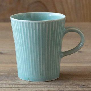新井真之 青磁色マグカップ