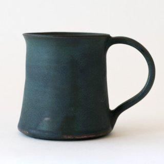 平野日奈子 コバルト釉モーニングマグカップ