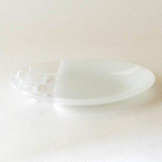 サブロウ 楕円皿 中(白)