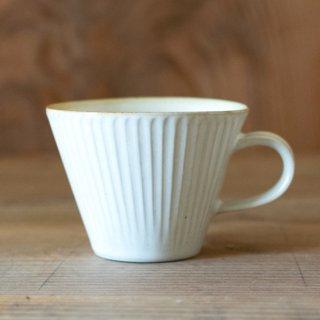 新井真之 白広口マグカップ