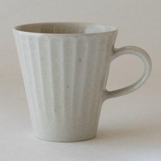 新井真之 白マグカップ(A)