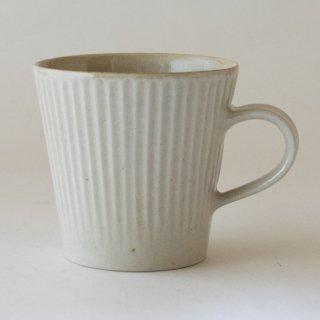 新井真之 白マグカップ(B)
