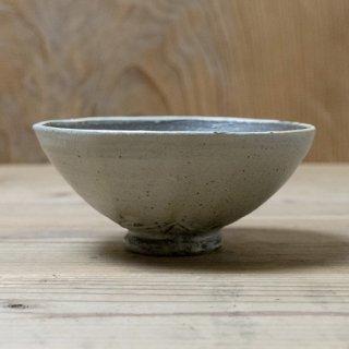 遠藤素子 粉引中黒茶碗