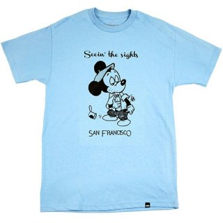 SNACK 【SEEIN THE SIGHTS】 S/S TEE (SKYBLUE) スナック Tシャツ (スカイブルー)