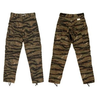 【COLOR COMMUNICATIONS 】PANTS / BDU TW CARGO カーゴパンツ TIGER CAMO